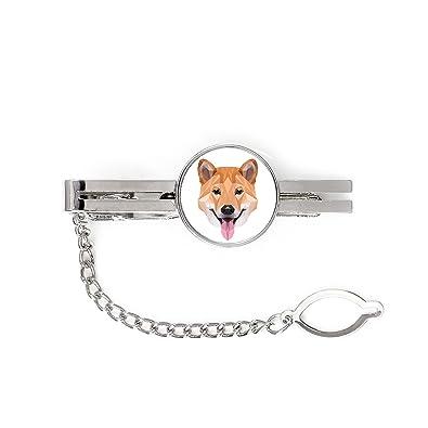 Shiba Inu, Pin de corbata, clip con una imagen de un perro ...