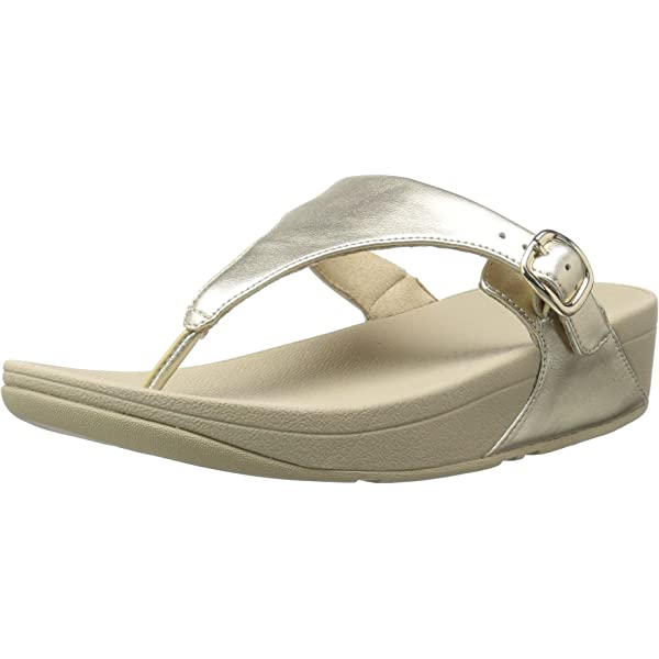 FitFlop Womens J26 The SkinnyTM Leather Toe Thong Sandals