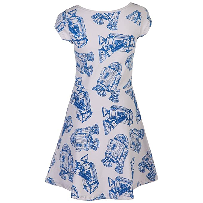 Amazon.com  Star Wars R2D2 All-Over Print Skater Dress X-Large  Clothing 353b0f964