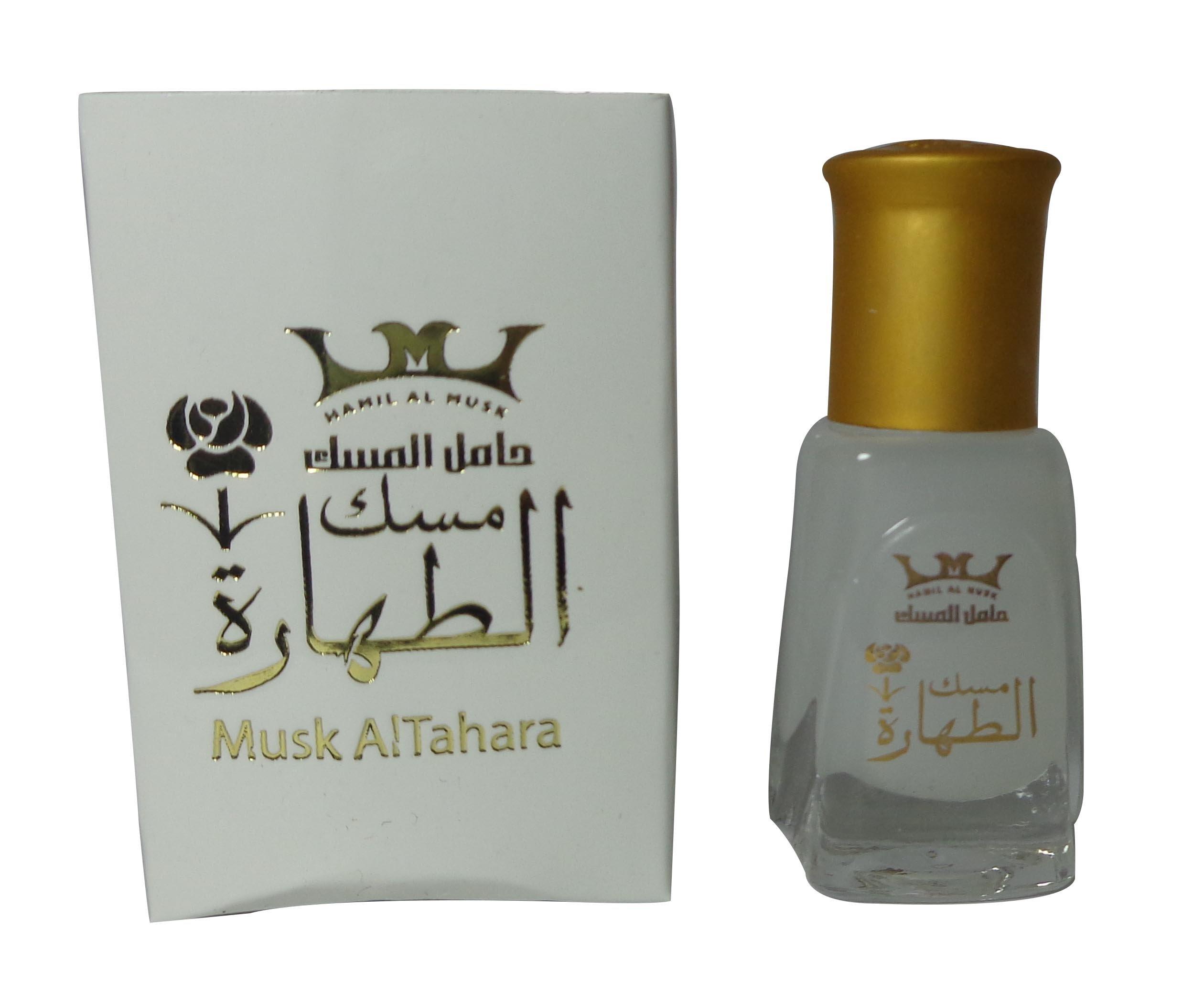 Pure Saudi Arabian Musk Al tahara Altahara Alcohol Free 5ml مسك أبيــض درجة أولى (12 Bottle = 60 ml) by bonballoon (Image #3)