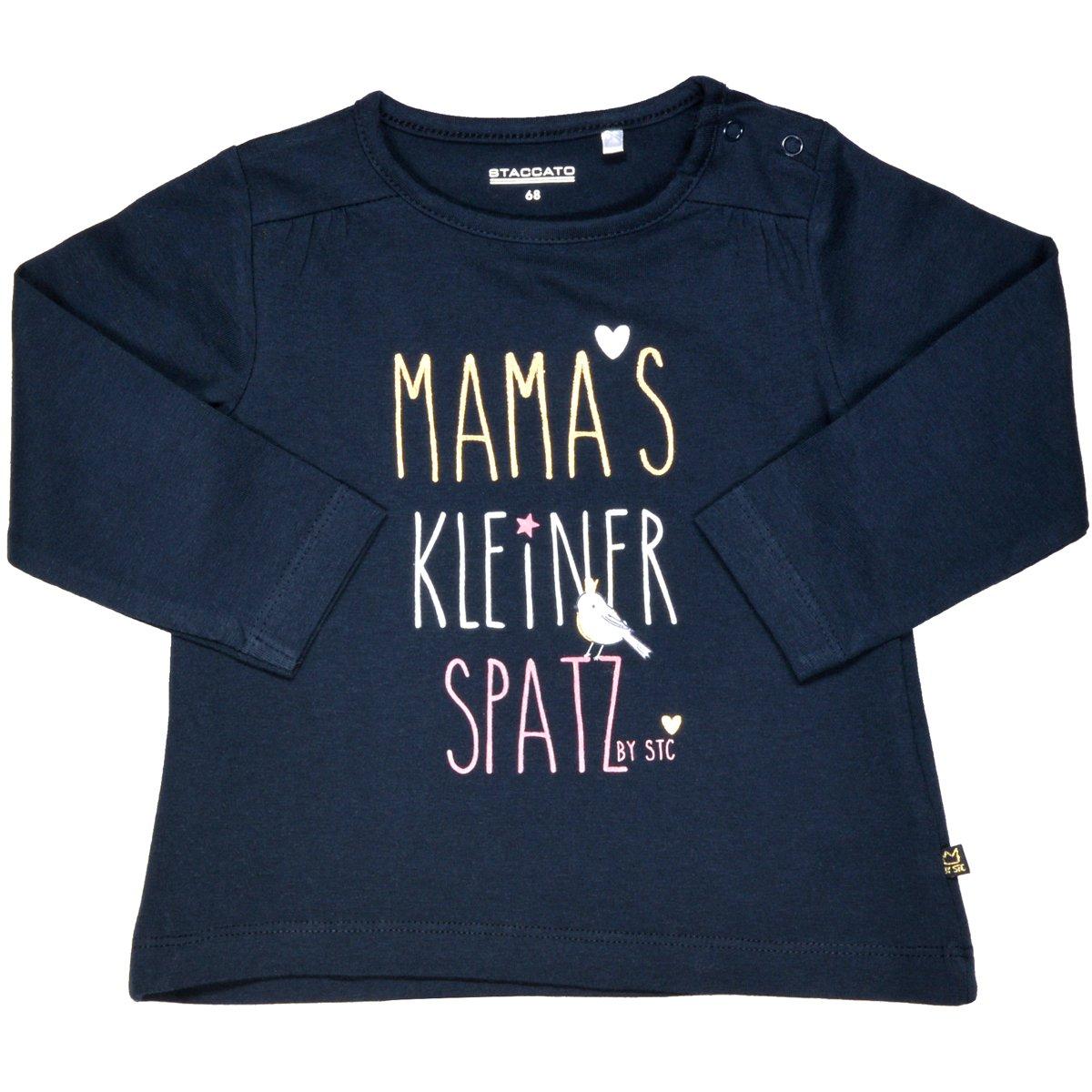 Staccato Mädchen Langarmshirt Mamas Spatz - Navy (230064488) KATAG AG