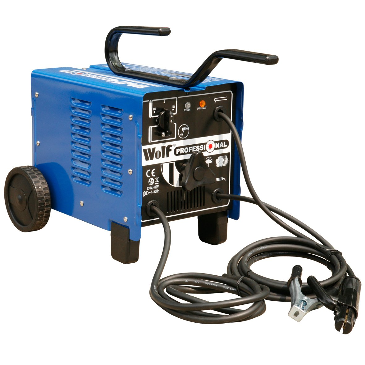 Wolf Pro 250 ARC Turbo Fan Cooled Welder 60 Amps - 250 Amp Range With Thermal Overload Protection