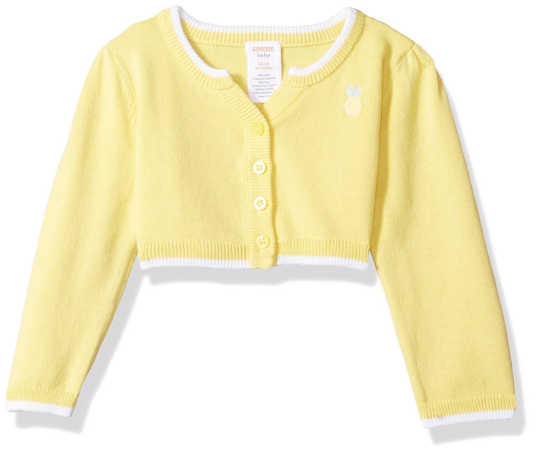 9cd9b2e1c Amazon.com  Gymboree Girls  Toddler Crop Cardigan  Clothing