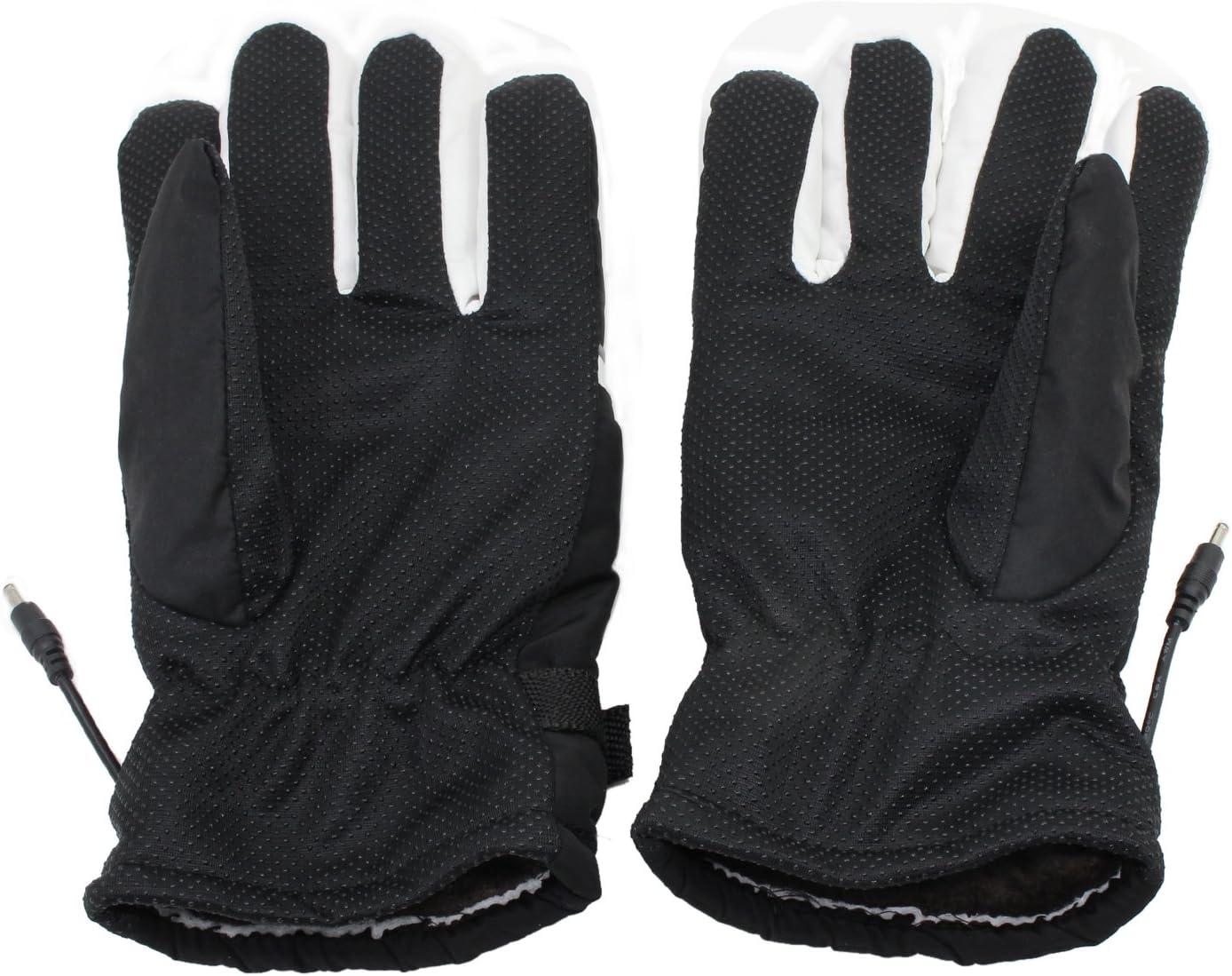 PsmGoods/® Motorrad-Motorrad Beheizte Handschuhe 12V wasserdicht Frostschutz Blau