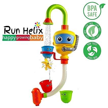 RUN HELIX Bath Toys for Toddlers 2 Years Old Boy Girl Bathtub Bathtime Amazon.com: