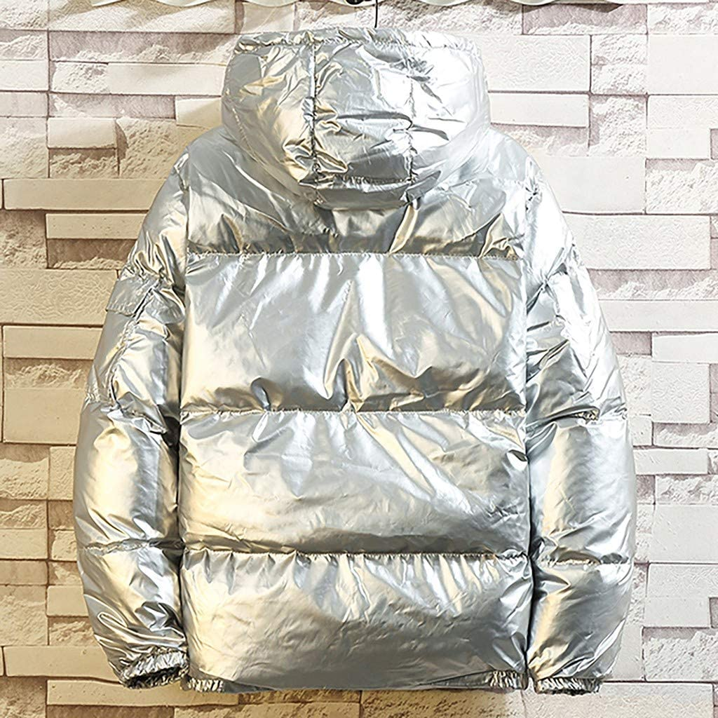 Succper Hooded Water Resistant Ultra Light Weight Short Down Jacket Outwear Puffer Down Coats Glossy Down Jacket