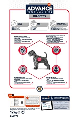 Advance diabetes colitis canine dieta para perros diabeticos: Amazon.es: Productos para mascotas