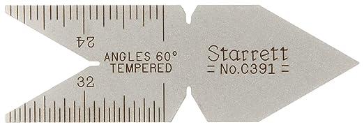Starrett C391 60 Degree Centre Gage