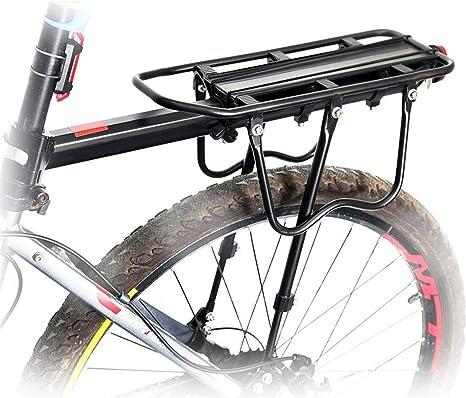 zanasta – Portaequipajes para Bicicleta Tija de sillín, con Cierre ...