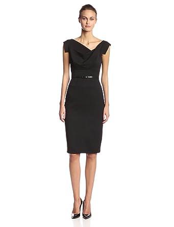 Amazon.com: Black Halo Women\'s Jackie O Dress: Clothing