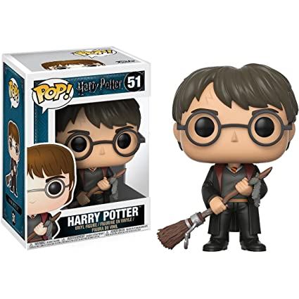 Amazon.com: Harry Potter [W/Firebolt]: Funko POP. x Harry ...