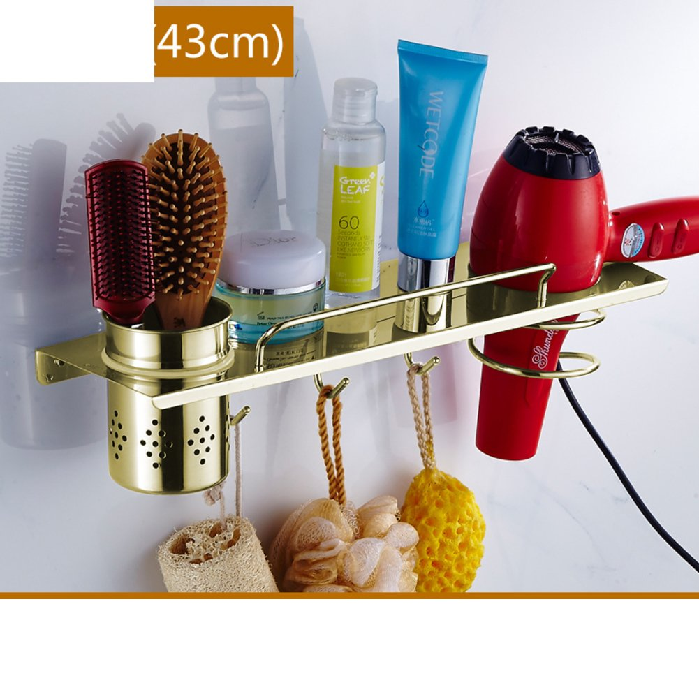 durable service blower shelf / wall mount bracket/Stainless steel bathroom hair dryer holder/shelf /Hair dryer-F