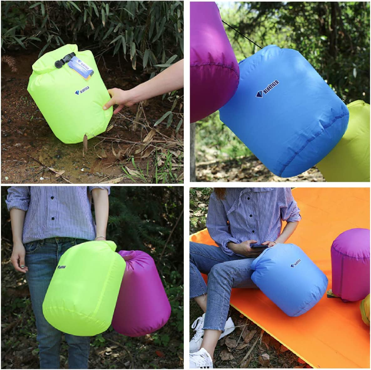 TRIWONDER Bolsa Estanca Impermeable Bolsa Seca para Camping Playa Navegaci/ón al Aire Libre