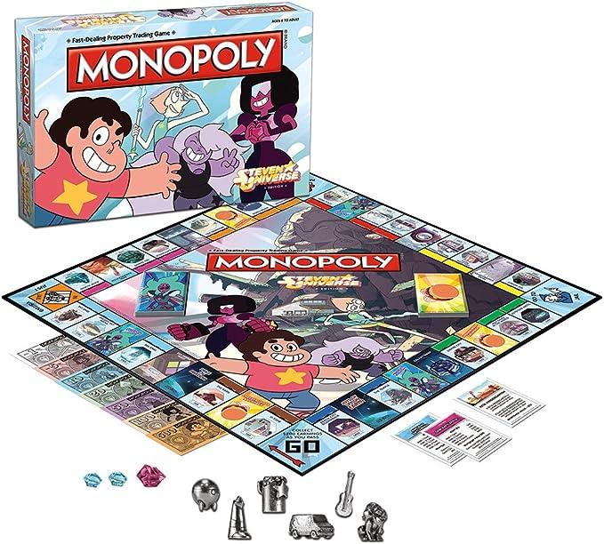 MONOPOLY: Steven Universe Board Game by USAopoly: Amazon.es: Juguetes y juegos
