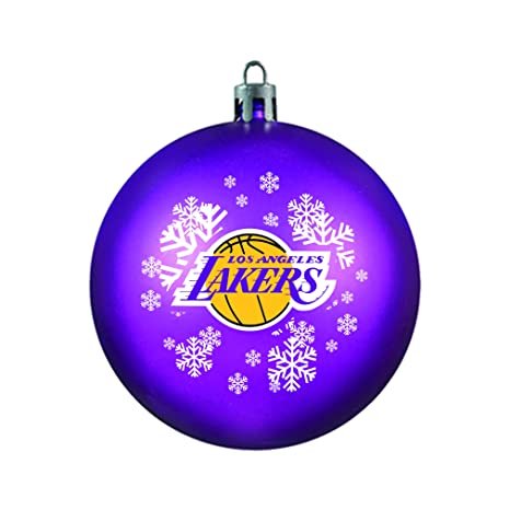 Image Unavailable. Image not available for. Color  NBA Los Angeles Lakers  Shatterproof Ornament effedd6b1