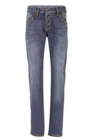 2552f83211fdc0 Camp David Jeans Grey Used S622 Slim FIT Straight Leg NORMAL Wast Robin  999-5596  Amazon.de  Bekleidung