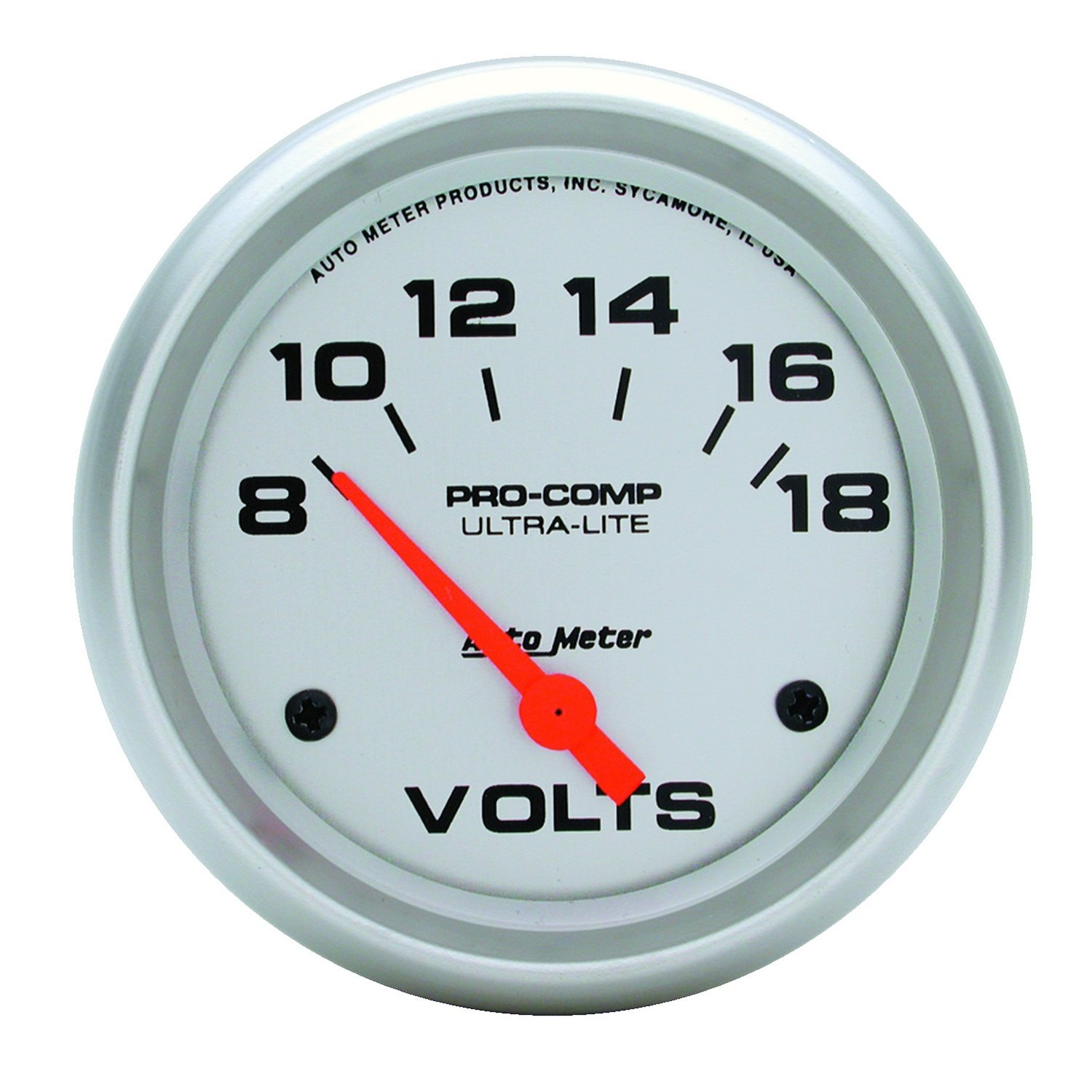 Auto Meter 4491 Ultra-Lite Electric Voltmeter Gauge