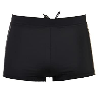 Calvin Klein Short de bain - Homme Noir Noir  Amazon.fr  Vêtements ... 165cd137cafd