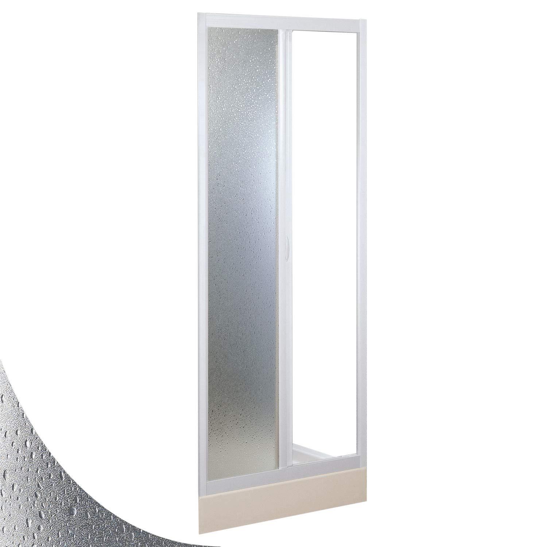 Forte Puerta de Ducha 100 CM de Acr/ílico Mod Mercurio con Apertura Lateral