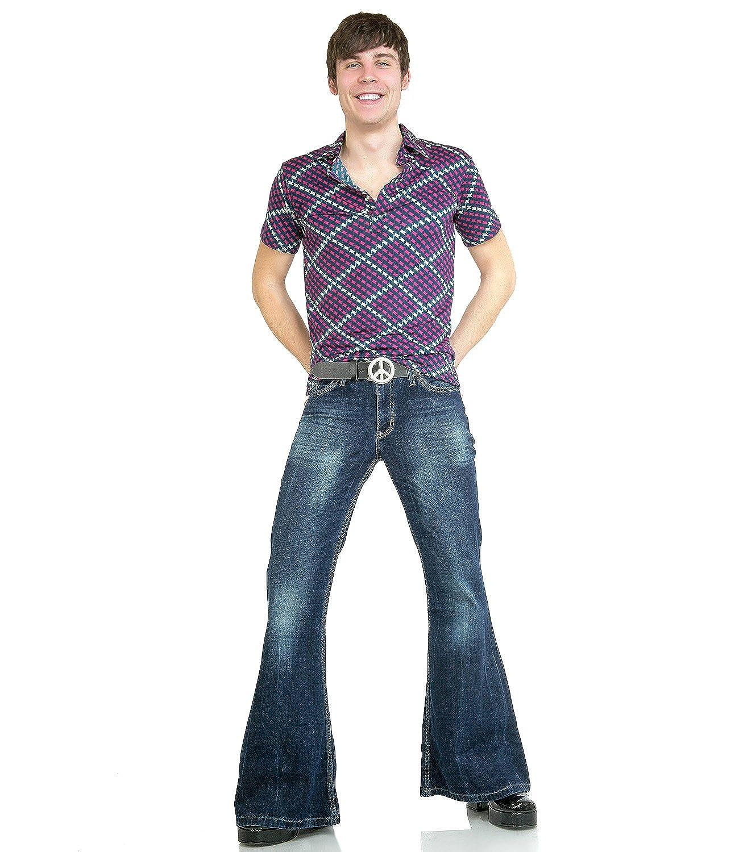 Jeans Evas/é Homme Bleu Bleu Uni Comycom