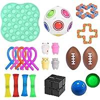 Sensorisk fidget leksaksset, bunt för barn vuxna stressavlastning och ångest- handleksaker specialleksaker sortiment för…