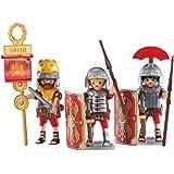 Playmobil - 6490 - 3 Légionnaires Romains - Emballage Plastique, pas de boîte en carton