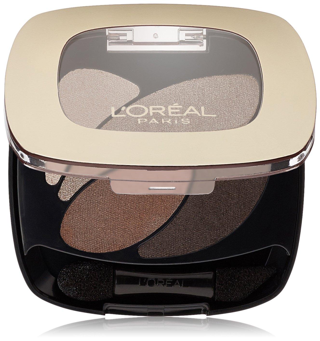 L'Oréal Paris Colour Riche Dual Effects Eye Shadow, Absolute Taupe, 0.12 oz.