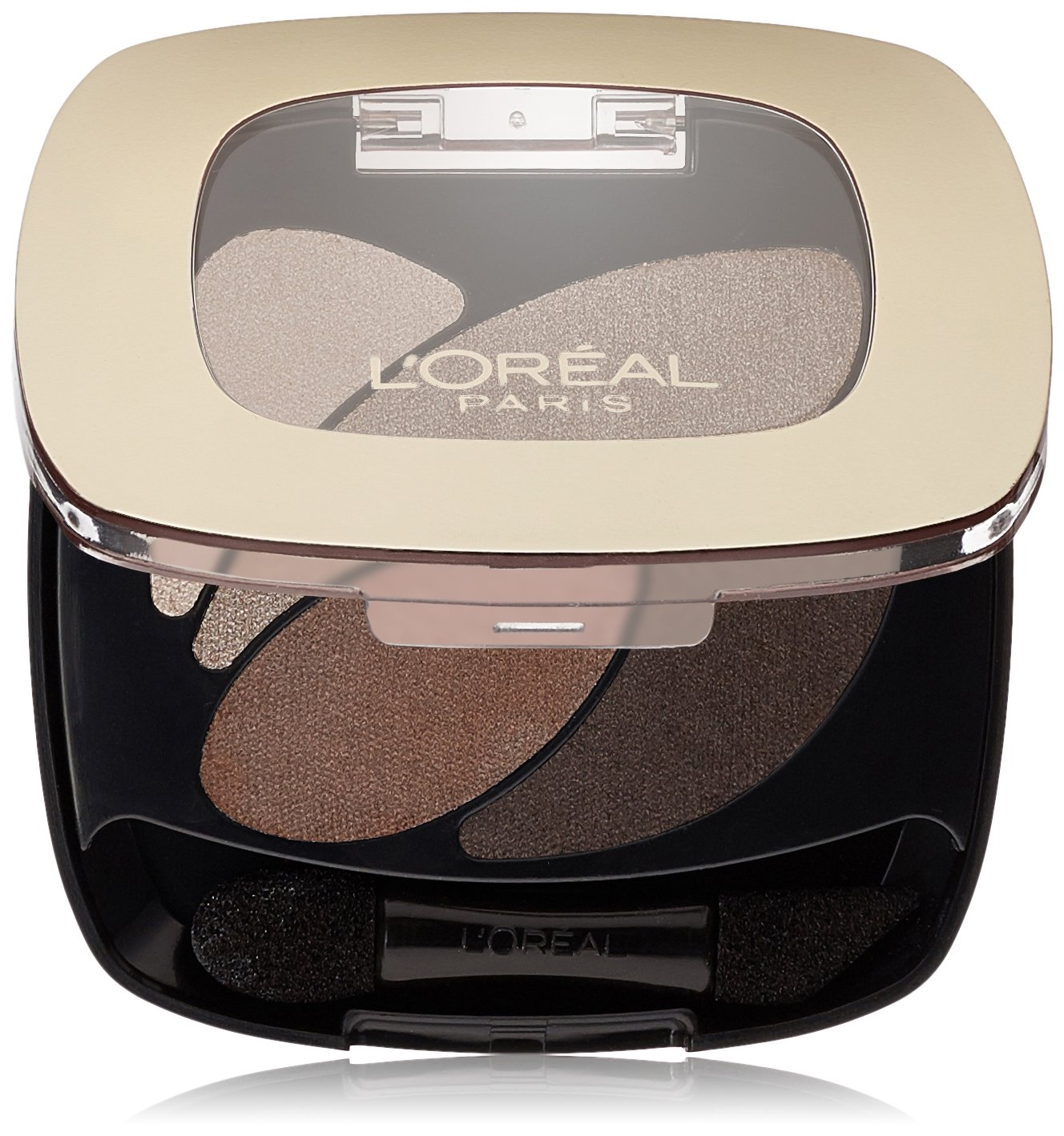 L'Oréal Paris Colour Riche Dual Effects Eye Shadow, Absolute Taupe, 0.12 oz.