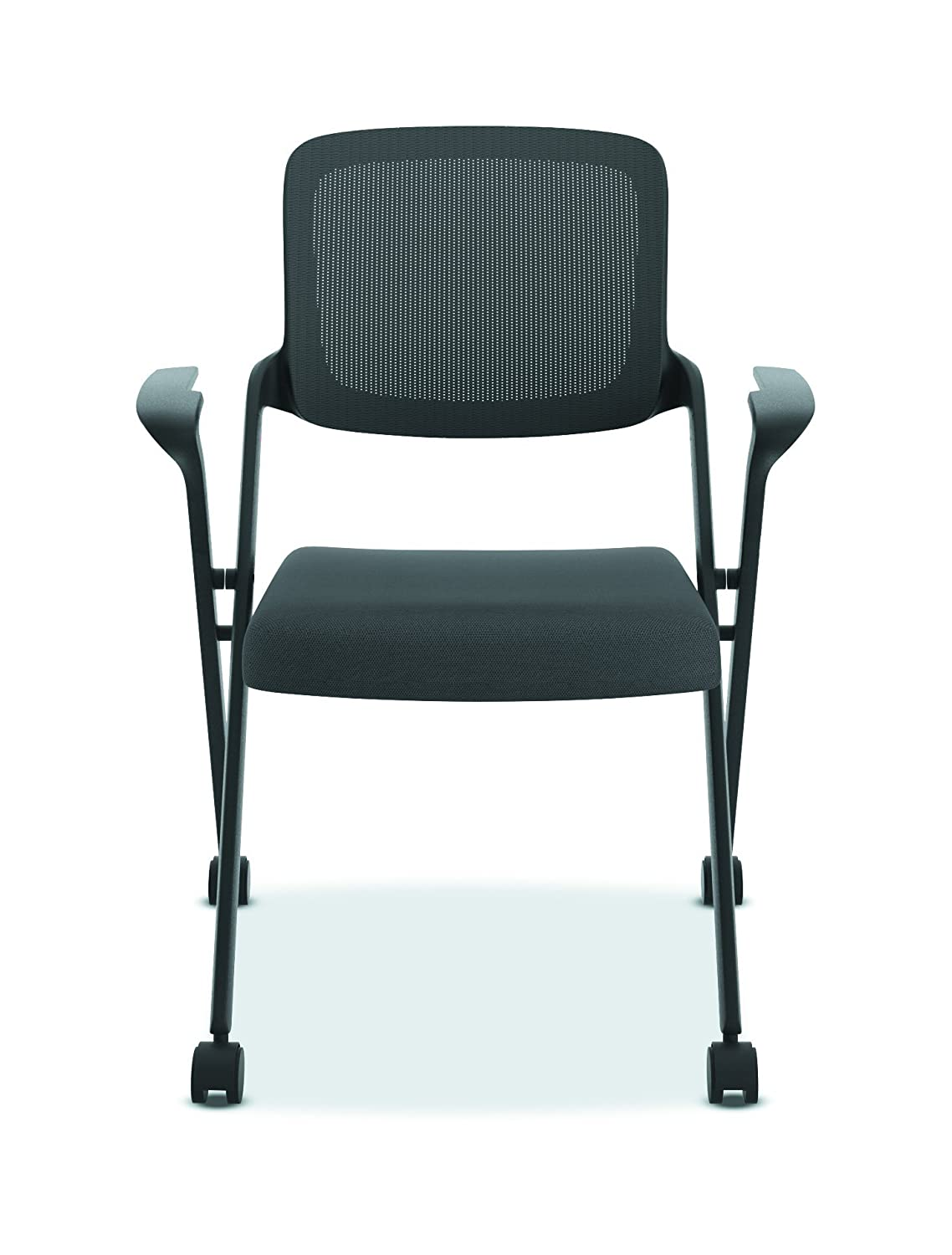 HON Assemble Mesh Back Nesting Chair – Stacking Chairs, Pack of 2