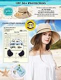 Packable Sun Bucket Summer Hat Women Beach Safari