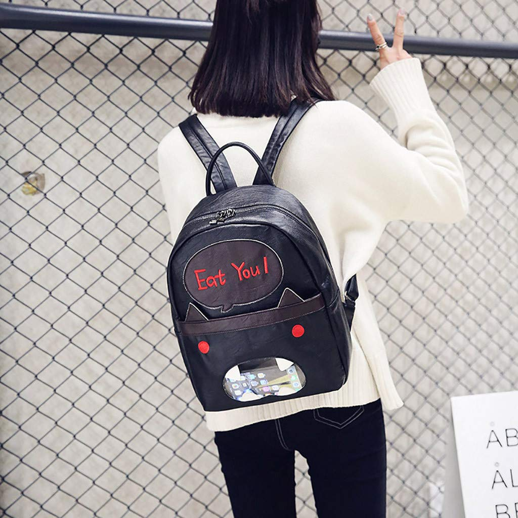 Women Retro Small Bag Fashion Versatile Backpack Student BagHandbags/&Clutches/&Evening Bags