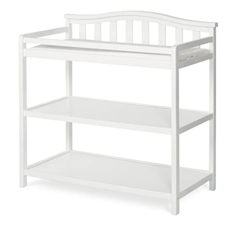 Ordinaire Child Craft Arched Top Changing Table With Pad, Matte White