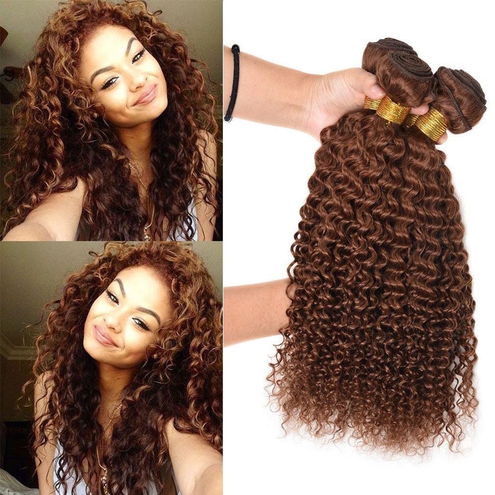 Chic Fashion Lady Hair Deep Curly Weave 100 Human Hair Weft