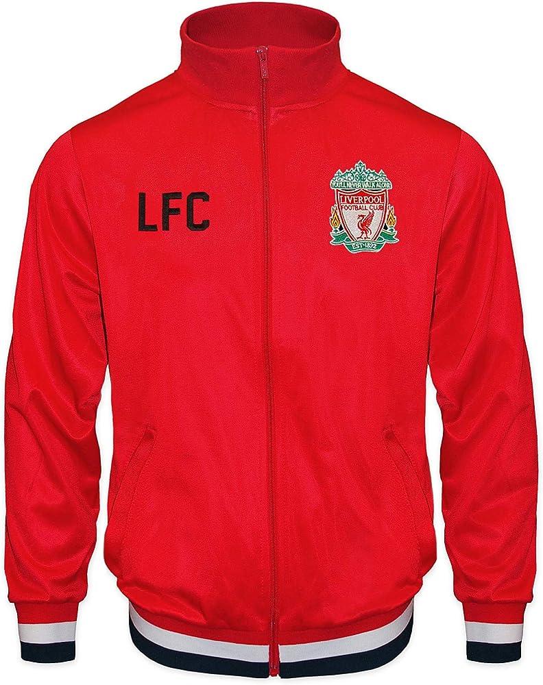 Liverpool F.C. - Chaqueta Oficial de fútbol para niños Rojo Rosso ...