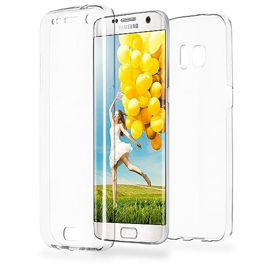 26 opinioni per Doppia cassa come nome del Samsung Galaxy S7 Edge | Trasparente Custodia in