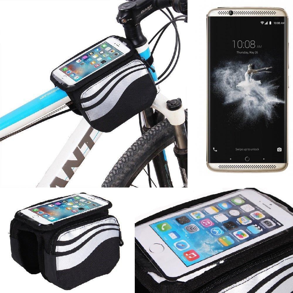 K-S-Trade Bolso Bolsa Funda Bicicleta para ZTE Axon 7, Teléfono ...