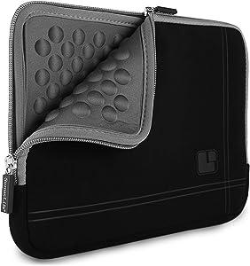8 inch Black Grey Tablet Bag Carrying Case for Lenovo Tab 4, 4+, Yoga Tab 3