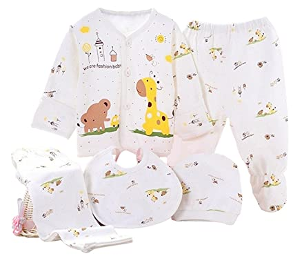 Kris & Ken 3 colores bebé 5 piezas Canastilla Set de regalo Unisex ...