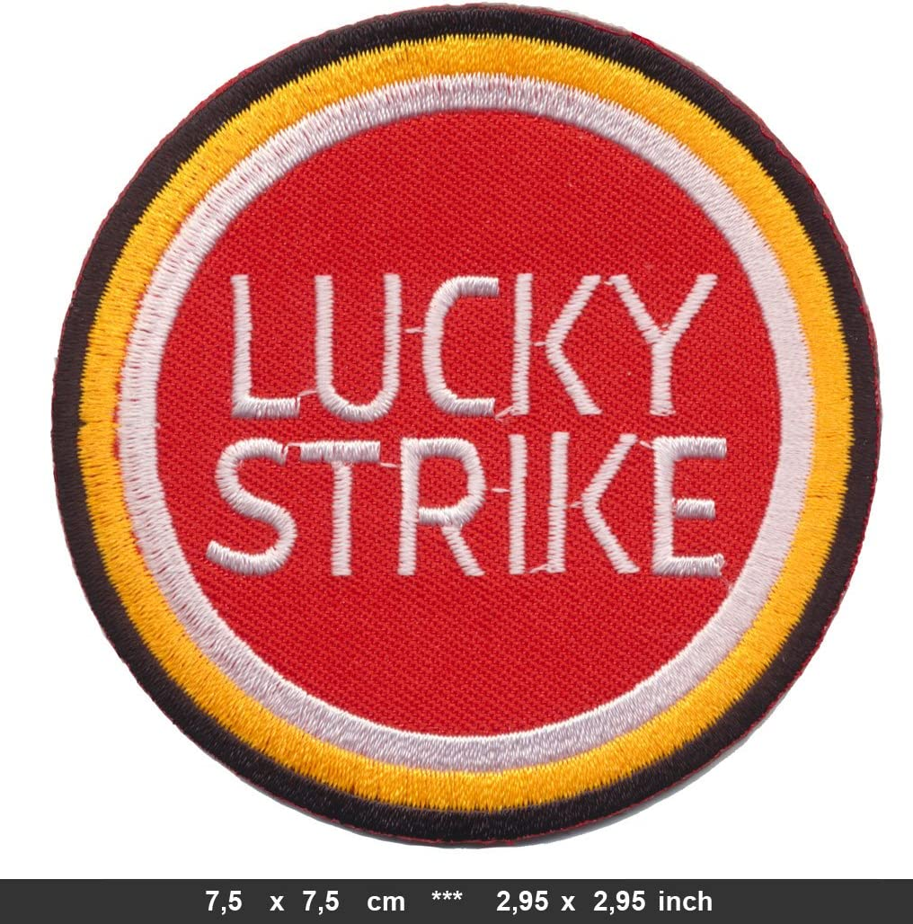 Lucky Strike Aufn/äher Patches Motorrad Racing Team Moto GP