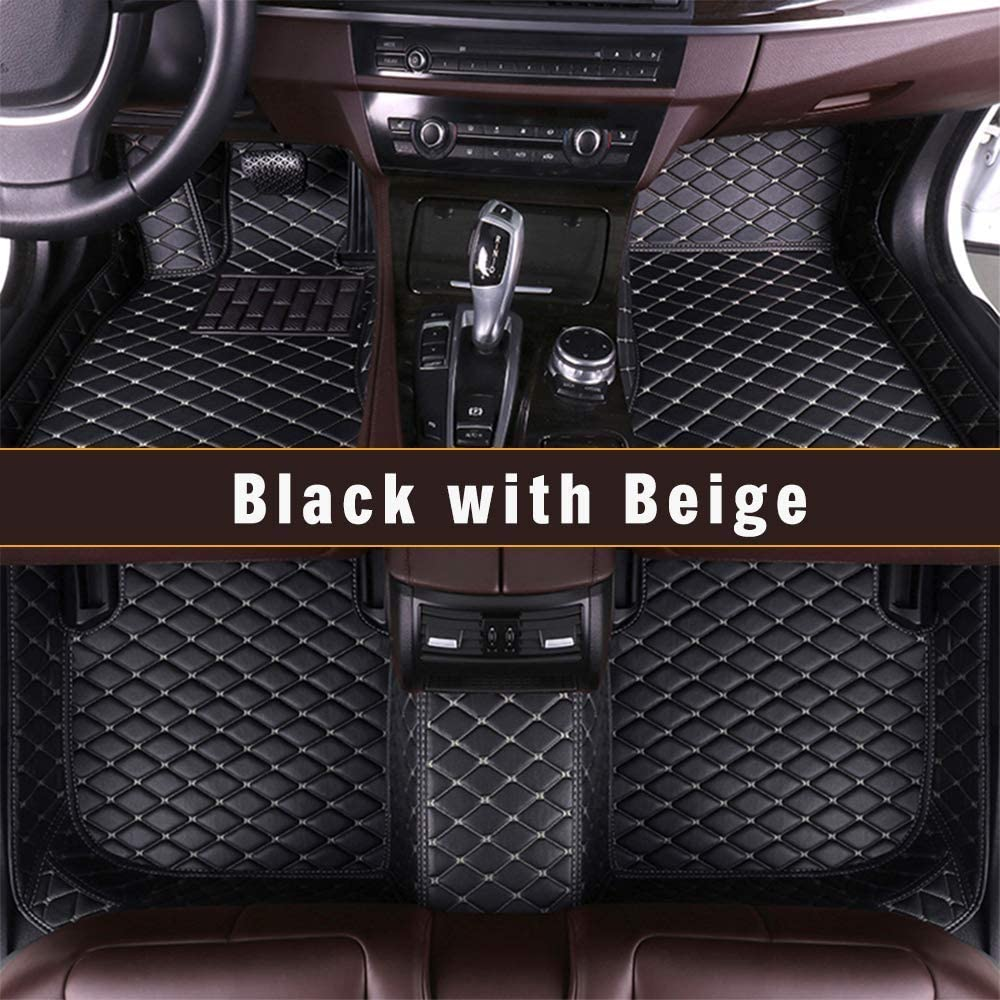 Longzhimei Custom Car Floor Mats for Nissan Frontier 2005-2019 Car Interior Accessories Full Covered Leather Front /& Rear Waterproof Car Carpet FloorLiner Floor Mat Gray