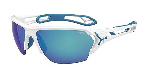 dafd40f90 Cebe Sunglasses S'Track L CBSTL12 Shiny White Blue 1500 Grey Blue ...