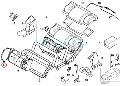 Amazon Com Bmw Genuine Tension Strap Automotive