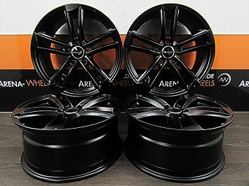 WHEELWORLD WH27 - Llantas de aluminio para Seat Altea Toledo 5P Ateca 5FP Leon 1P 5F Cupra FR ST (4 unidades, 19 pulgadas): Amazon.es: Coche y moto