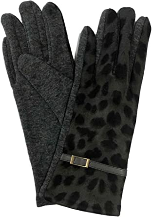 IPAD* GRAY LADIES FASHION TEXTING TOUCH SCREEN GLOVES FOR  SMART PHONE