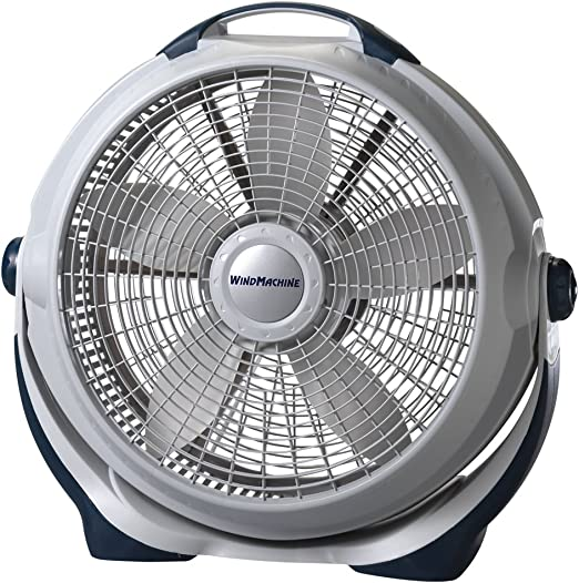 Amazon Com Lasko 3300 Wind Machine Air Circulator Portable High Velocity Floor Fans For Indoor Home Cooling Breezes And White Noise In Bedroom Home Kitchen