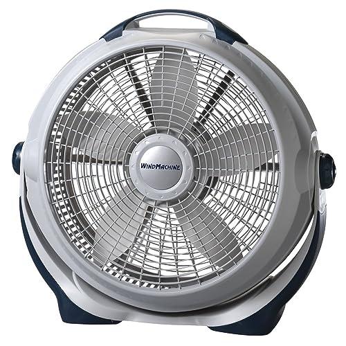 Lasko 3300 20″ Wind Machine Fan With 3 Energy-Efficient Speeds - Features Pivoting