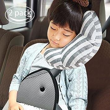 Car Seat Travel Pillow For KidsSeatbelt Pad Headrest Neck Support Sleeping Children