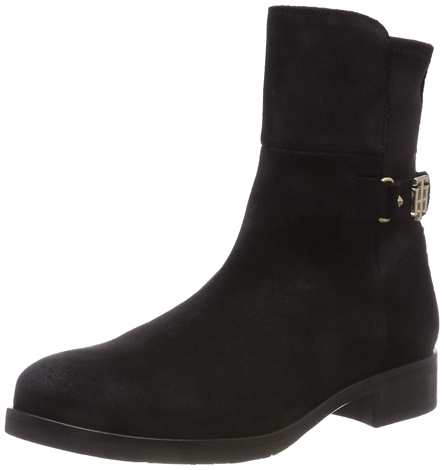 Tommy Hilfiger TH Buckle Bootie Stretch, Botines para Mujer: Amazon.es: Zapatos y complementos
