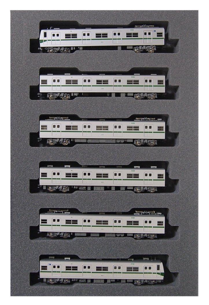 KATO Nゲージ 営団地下鉄 千代田線6000系 基本 6両セット 10-1143 鉄道模型 電車   B00IDRVP38