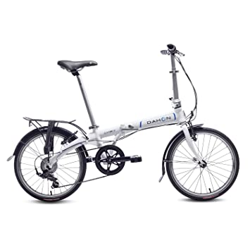 Dahon Vybe D7 Bicicleta Plegable, Unisex Adulto, Blanco Cloud, 20""